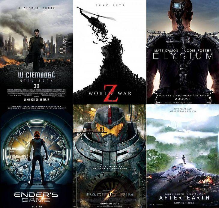 Premiery filmów SF