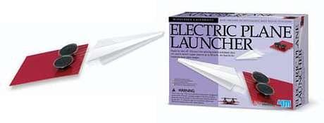 Wyrzutnia papierowych samolotów?