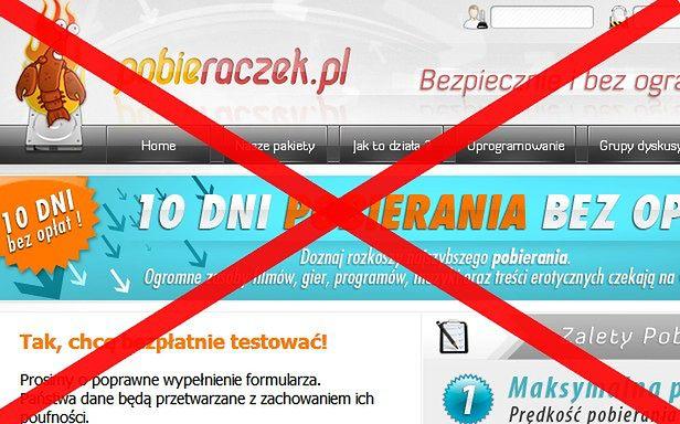 Czy internauci wygrają z Pobieraczkiem?