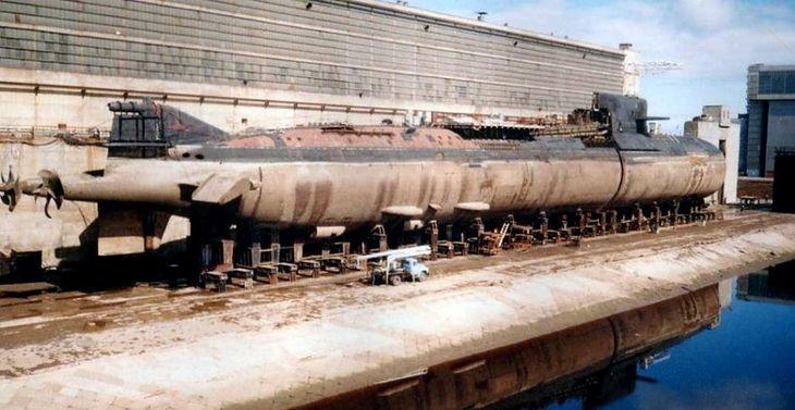 BS-64 Podmoskowie - podczas przebudowy