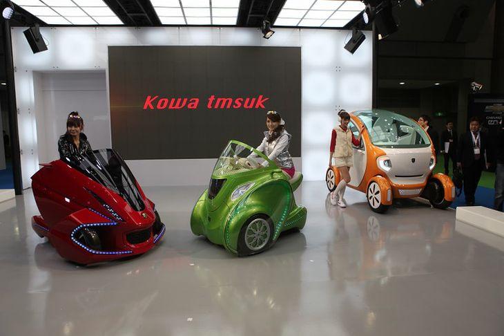 Pojazdy koncepcyjne Kowa tmsuk (Fot. Gizmag.com)