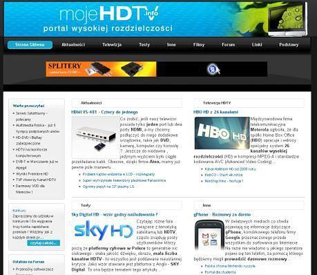 Obrazek: Portal HDTV