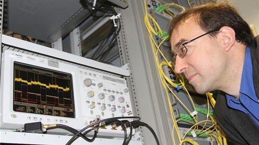 prof. Jurg Leuthold (fot. Gabi Zachmann)