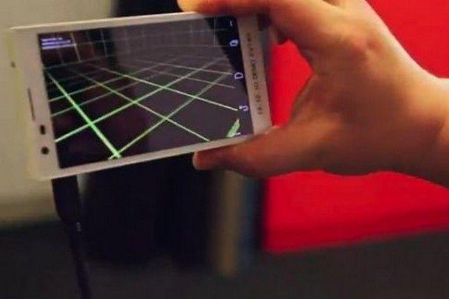 Project Tango - telefon rozpoznaje przestrzeń wokół siebie