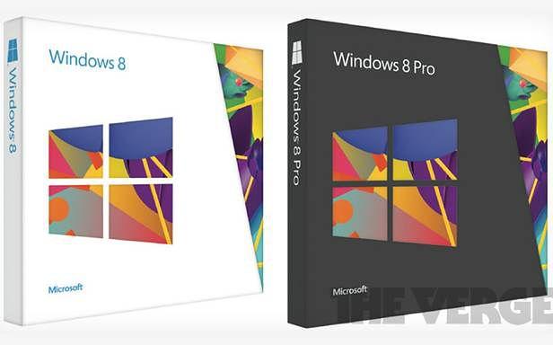 W takich pudełkach Windows 8 trafi do sklepów (Fot. The Verge)