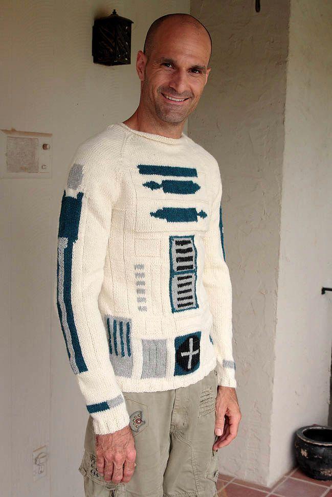 R2D2 sweter