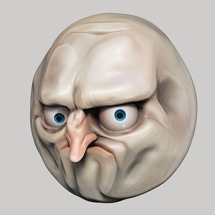 Zdjęcie rage face'a pochodzi z serwisu shutterstock.com.