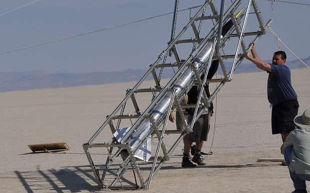 Przygotowania do startu (Fot. DDeville.com)