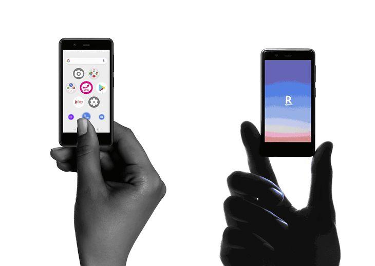 Rakuten Mini - naprawdę miniaturowy smartfon z ekranem 3,6 cala na Androidzie 9.0