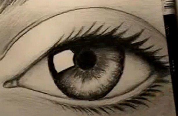 Jak narysować oko? (fot.: YouTube/markcrilley)