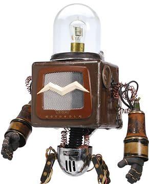 Roboty - dzieła sztuki od Mike'a Rivamonte