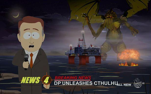 "Cthulhu w ""South Parku"" (Fot. Comedy Central)"