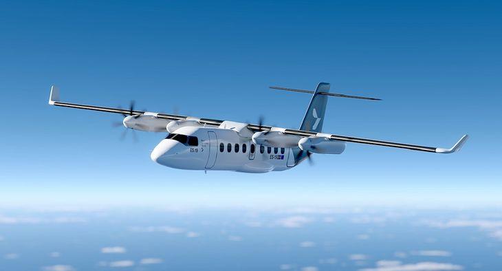 Szwedzka firma zaprezentowała projekt maszyny E-19. To pierwszy elektryczny samolot pasażerski na świecie