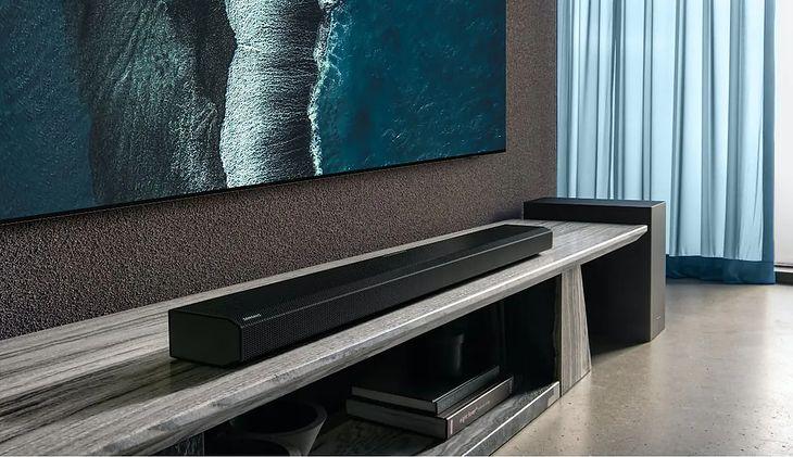 Samsung HW-Q950A to zestaw oferujący dźwięk przestrzenny 11.1.4