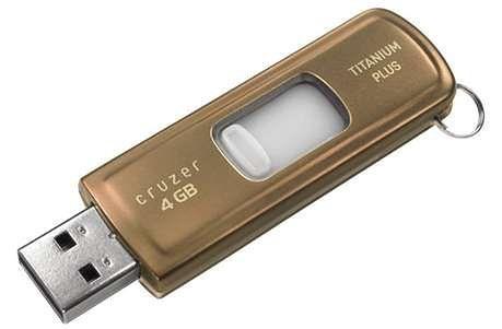 Nowy SanDisk Cruzer Titanium Plus z backupem online