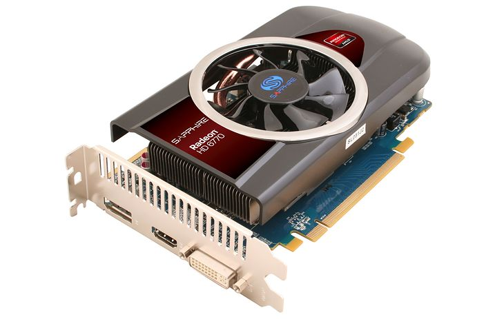 Sapphire Radeon HD 6770 (fot. Sapphire)