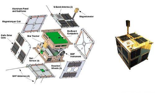 Pierwszy polski satelita - Lem (fot.: BRITE-PL)