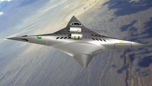 Wizualizacja SBiDir-FW podczas lotu z prędkością naddźwiękową (Fot. Business Insider)