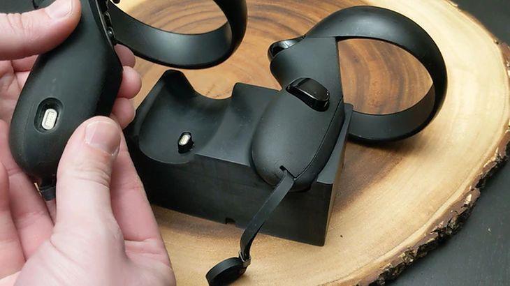 Zaopatrz swoje kontrolery z Oculusa w akumulatory i stację ładowania