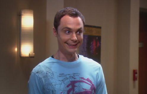 Sheldon smile