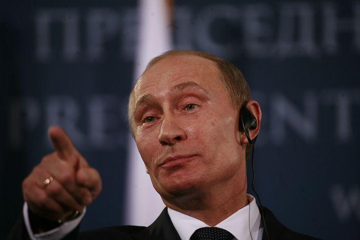 Zdjęcie Władimira Putina pochodzi z serwisu Shutterstock, autor: plavevski
