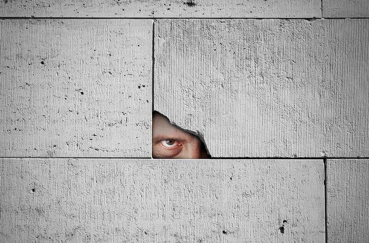 Zdjęcie Spy is watching you pochodzi z serwisu Shutterstock