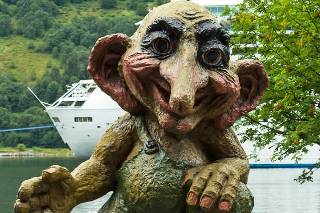 Zdjęcie trolla pochodzi z serwisu Shutterstock