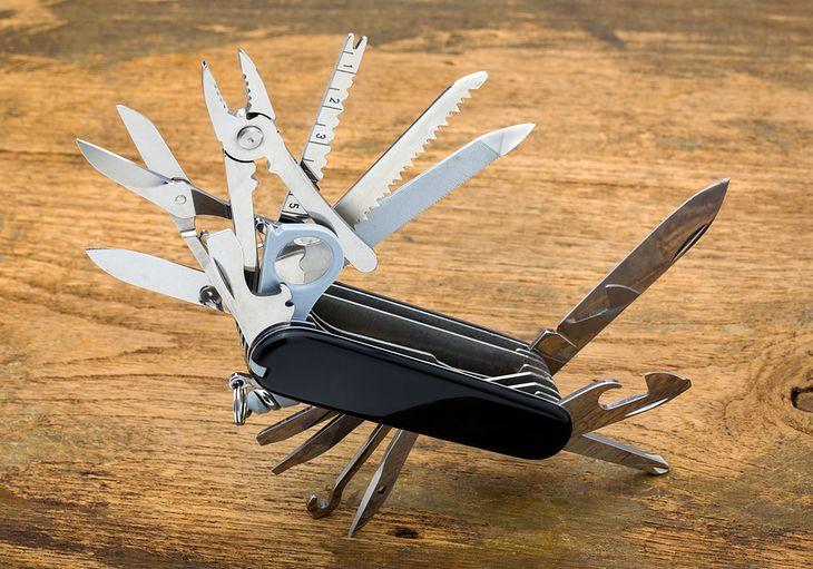 Mnóstwo przydatnych narzędzi w kompaktowej formie