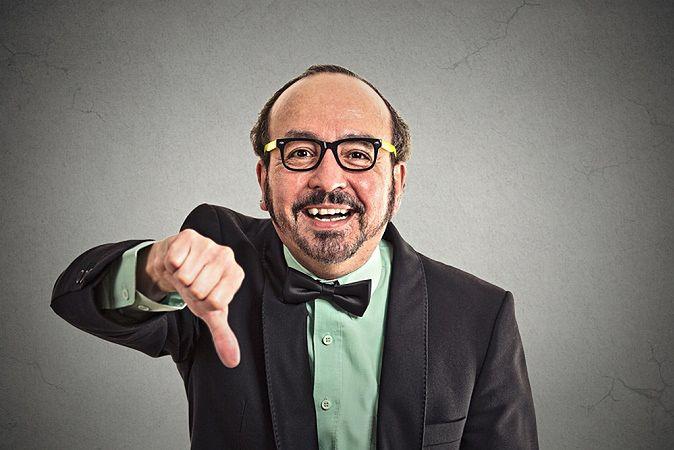 Zdjęcie krytyka pochodzi z serwisu shutterstock.com
