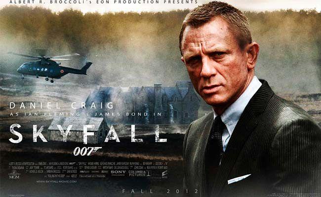 """Plakat filmu """"Skyfall"""""""
