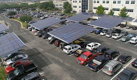 solarny parking