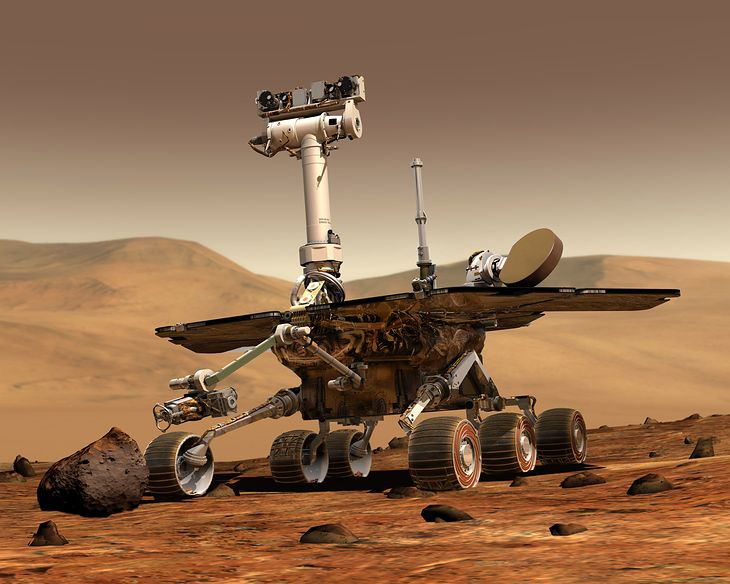 Spirit na Marsie