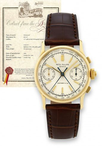 Split Seconds Patek Philippe Reference 1436 Tiffany & Co