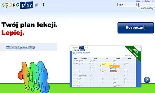 SpokoPlan.pl - plan lekcji online