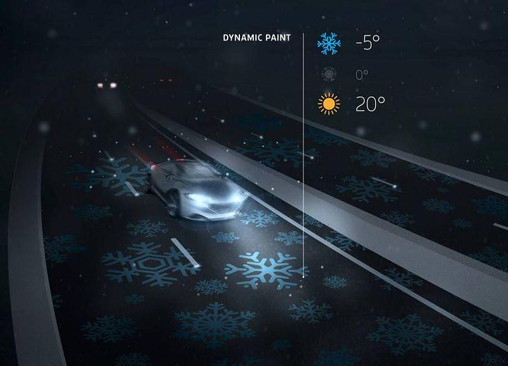Droga będzie ostrzegać kierowców o ryzyku oblodzenia (Fot. StudioRoosegaarde.net)