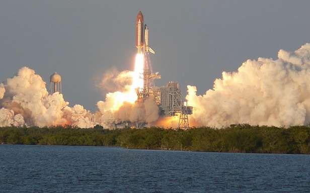 Wahadłowiec wyrusza na misję (Fot. Flickr/Kenny Miller/Lic. CC by-sa)