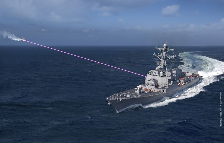 Laserem w przeciwnika - wizja internetowego twórcy