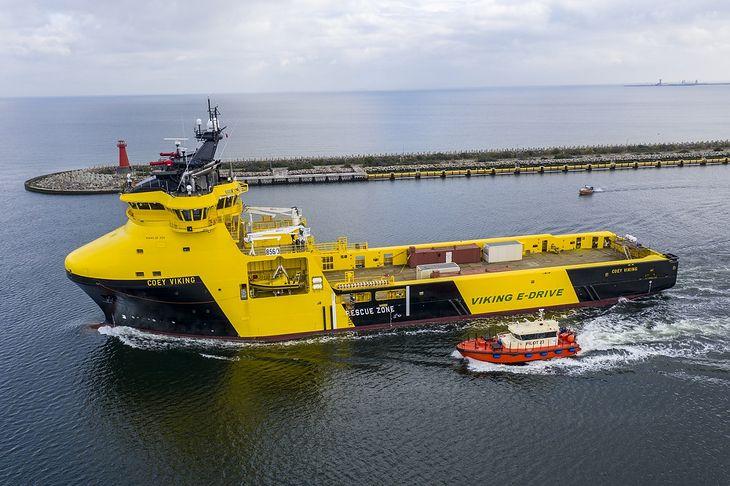 """Zakończono budowę statku """"Coey Viking"""""""