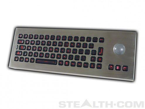 Stealth keyboard