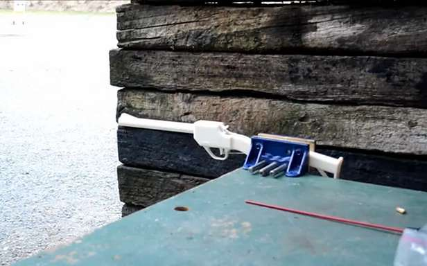 Strzelba Grizzly z drukarki 3D