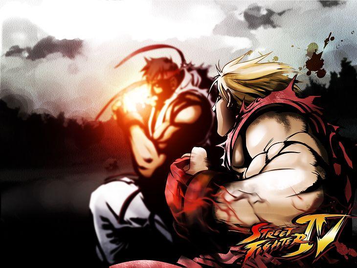 Street Fighter IV przywrócił blask gatunkowi (Fot. Świat Tapet)