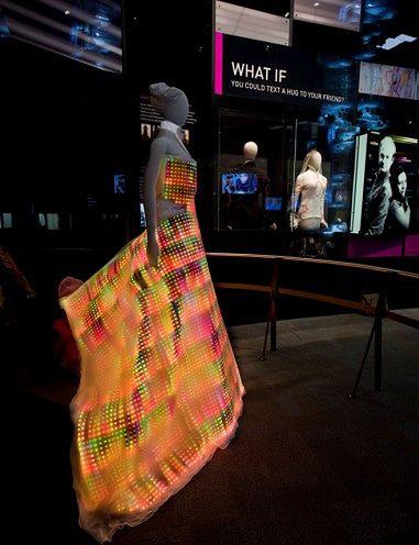 Sukienka LED 02