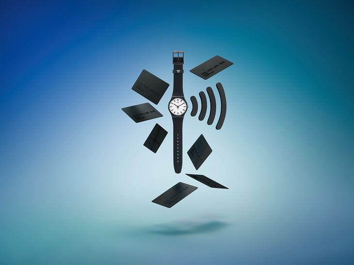 Swatch wprowadza płatności zbliżeniowe do zwykłych zegarków.