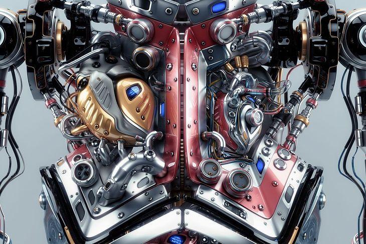Zdjęcie sztucznych organów wewnętrznych pochodzi z serwisu Shutterstock