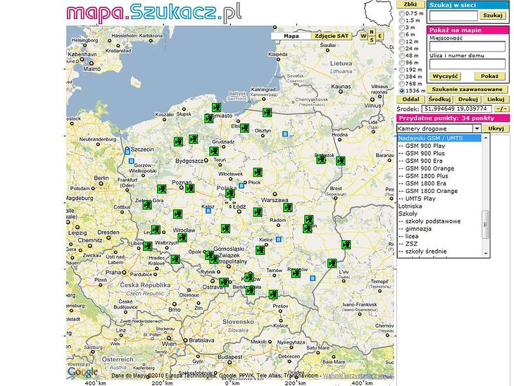 Mapy Online Najlepsze Serwisy W Sieci Top 8 Gadzetomania Pl