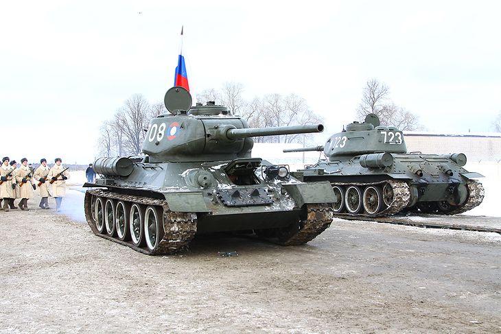 T-34 powracają do Rosji