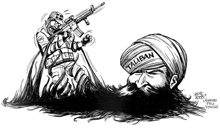 Zmagania z Talibami (fot. Wikimedia Commons)