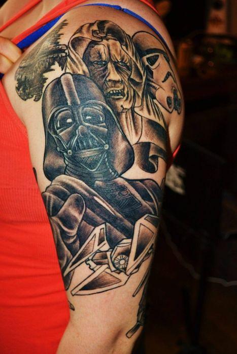 Ponad 100 Niezwykłych Tatuaży Z Gwiezdnych Wojen