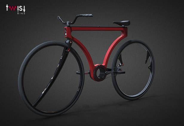Twist Bike (Fot. YankoDesign.com)
