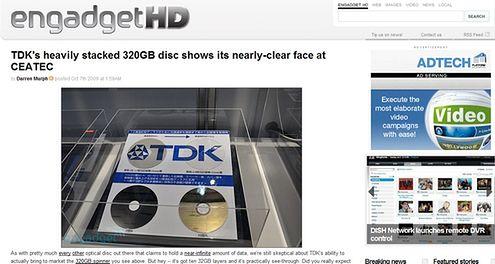 TDK 320GB